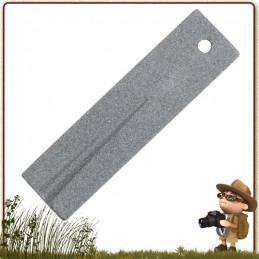 Pierre à Affuter Rothco - Mini pierre à affuter pour couteaux et outils tranchants. Pierre d'affutage céramique