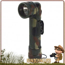 Lampe Torche Coudée US Army Camouflage militaire de chasse Rothco