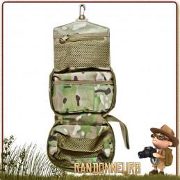 Petite Trousse de Toilette Camouflage Multicam BCB opération militaire
