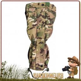 Guêtres militaires Highlander ProForce Polyester 1000D XTP PU ripstop taillées spécialement pour les hommes imperméable