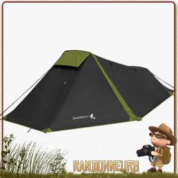 Tente BLACKTHORN 1 XL Highlander Noire de randonnée bikepacking cyclotourisme légère et spécieuse