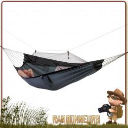 Hamac Mosquito Traveller Amazonas utilisable avec moustiquaire ou sans, contre les insectes en bivouac léger bushcraft