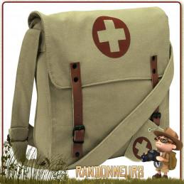 sac besace coton canvas medic rothco de transport équipement randonnée bushcraft