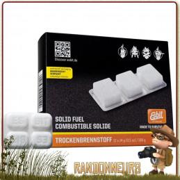 Boite de 6 tablettes de 14g Héxamine Esbit essence solide pour réchaud randonnee pliant