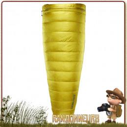 sac couchage Thermarest OHM 32F plume oie gonflant 900 doublure thermacapture pour chaleur corporelle
