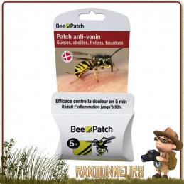 Patch Anti-Venin Bee Patch efficace contre la douleur et reduit l'inflammation piqure d'insecte