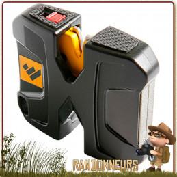 Affuteur Manuel Pivot Worlsharp portable pour l'aiguisage de couteaux pliants survie bushcraft