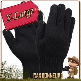Gants militaire Rothco 70% laine et 30% nylon chauds Maintenez vos mains bien au chaud avec ces gants de chasse