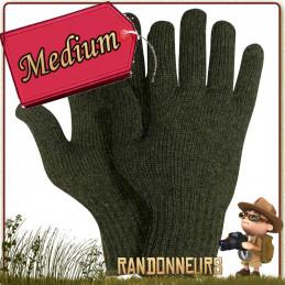 Gants bushcraft Rothco 70% laine et 30% nylon à la fois chauds et résistants