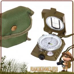 Boussole compas de visée Ultimate Fosco militaire