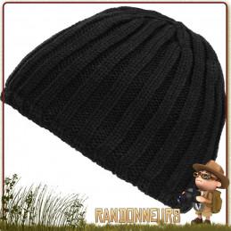 Bonnet Tricot Epais Noir Fostex pour les saisons froides extrêmes grâce à sa doublure