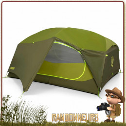 tente bivouac camping aurora 3p nemo autoportante spacieuse pour trois campeurs