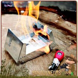 gel éthanol DragonFire BCB à base d'éthanol haut pouvoir énergétique allume feu ou bien combustible pour votre réchaud