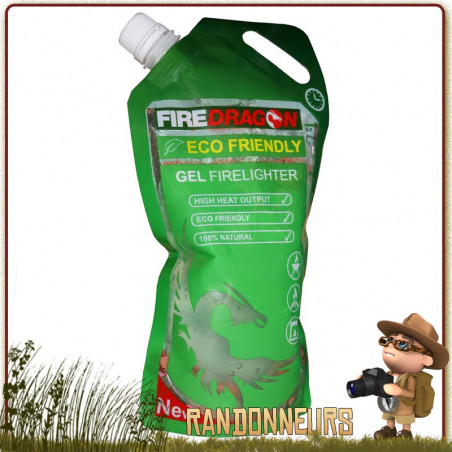 Sachet Gel Ethanol FireDragon 200 ml BCB