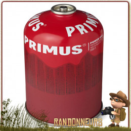 Cartouche de gaz Primus PowerGaz 450g pour réchaud randonnée ultra léger microntrail mimer primus