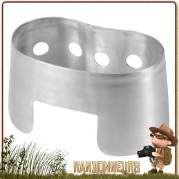 Réchaud Aluminium Tous Combustibles Rothco pour quart inox et quart aluminium type GI's US Américain