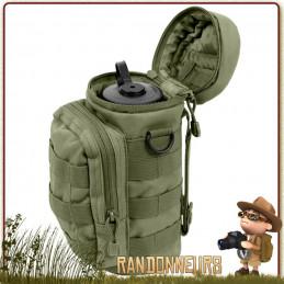 Pochette Tactique Molle pour Gourde Armée Rothco  Pochette pour gourde type Nalgène ou autres matériel de survie