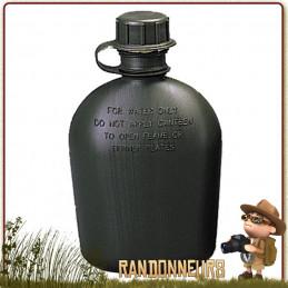 Gourde militaire type GI's en plastique de l'armée américaine vinyl alimentaire sans bpa pour eau de boisson