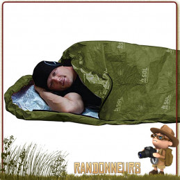 sursac bivy bag escape de survie SOL Survive Outdoors Longer vert olive militaire et buschcraft survie nature