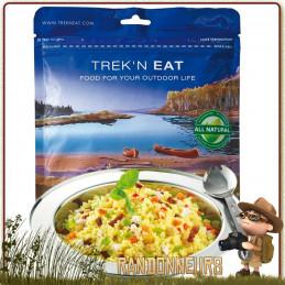 Sachet repas Couscous au Poulet et aux Légumes Trek'n Eat lyophilisé bivouac léger et randonnée