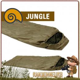 Sac de Couchage JUNGLE BAG SNUGPAK léger et campact pour un bivouac bushcraft par temps chaud