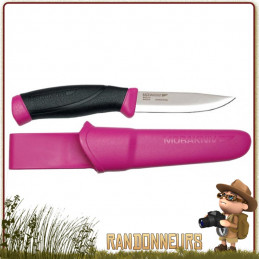 poignard de survie bushcraft mora knive companion f lame inox