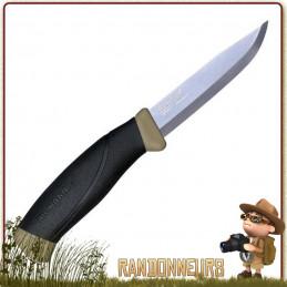 meilleur poignard bushcraft Couteau COMPANION DESERT Mora de survie