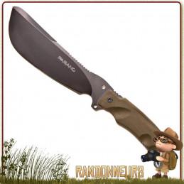 Poignard Machette PARANG de Fox Military, un ensemble de poignard très robuste au format de mini machette