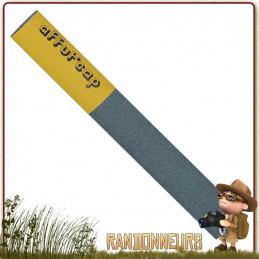 grande pierre à affûter Affut'Cap permet d'aiguiser les couteaux et outils efficacement. aiguiser le fil de vos couteaux