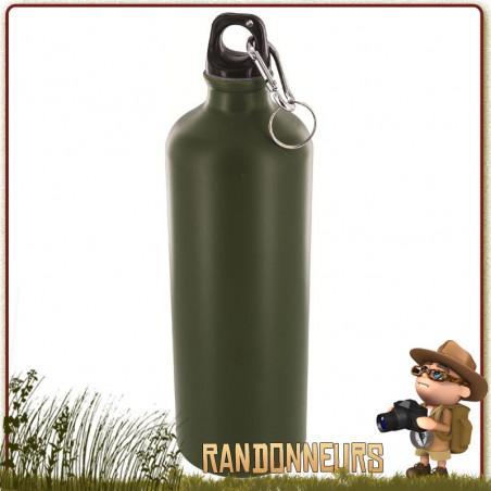 Gourde Militaire Aluminium 1L Highlander Olive