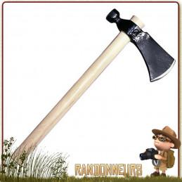 Hache Rifleman's Hawk Cold Steel, ultra robuste, manche en bois, longueur totale 48 cm