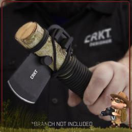 Lame de Hache CRKT PERSEVERE lame Persevere CRKT est un tomahawk, outil survie bushcraft à monter sur manche bois