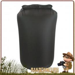 Sac nylon Étanche 4 Litres NOIR Highlander ultra léger pour la protection et de votre équipement dans un sac à dos