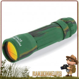 Monoculaire Highlander NORTHUMBERLAND 10x25 de chasse militaire