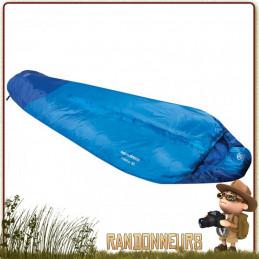 Sac couchage TREKKER 50 pour 1 saison avec température confort de 12°C ultra léger de randonnée