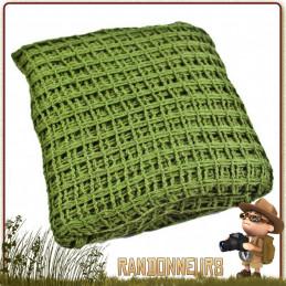 Echarpe Filet Militaire Vert Olive Highlander pour le camouflage du soldat sur le terrain
