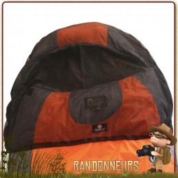Taie moustiquaire mesh Travelsafe, a placer sur la capuche du sac couchage pour protéger votre tête des insectes moustiques