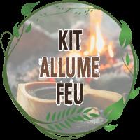 kit allume feu bcb avec pierre à feu firesteel survie tablette ouate cire hexamine en boite étanche pour kit de survie bushcraft