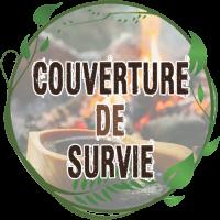 couverture de survie bcb robuste meilleure sac couverture de survie hypothermique de randonnée légère bushcraft