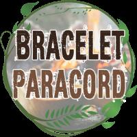 bracelet paracorde 550 nylon avec pierre à feu kit survie tressage bracelet paracorde nylon manille de couleurs